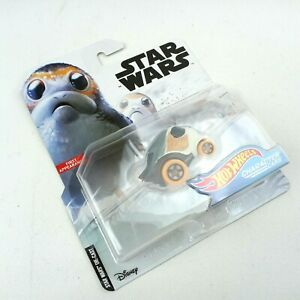 Porg Star Wars HOT WHEELS Character Car by Mattel 2019