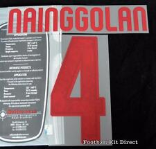 Roma Nainggolan 4 Football Shirt Name/Number Set Kit Away Serie a 2015/16