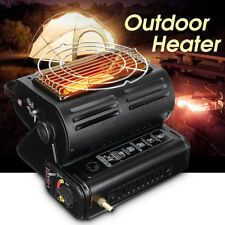 Portable Outdoor Barbecue Gas Space Heater Camping Tent Hiking Heating Grill