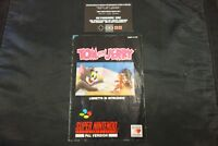 MANUALE ORIGINALE per  TOM and JERRY  ITA GIG super nintendo