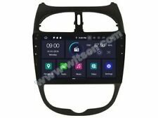 "AUTORADIO 9""Android 9.0 Peugeot 206 4gb/32gb Navigatore Usb wifi GPS"