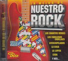 Los Enanitos Verdes  La Cuca Lo Mejor De Nuestro Rock CD+DVD New Nuevo sealed