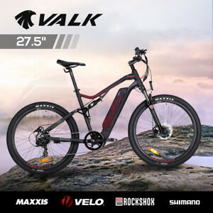 【EXTRA15%OFF】VALK Electric Bike eBike Battery Dual Suspension Mountain eMTB