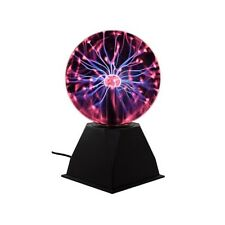 "12"" Large Plasma Globe Nebula Ball Light Show Glass Sphere Energy Touch Lamp"