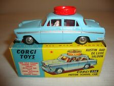 CORGI 236 AUSTIN A60 DELUXE SALOON MOTOR SCHOOL CAR - NR MINT in original BOX