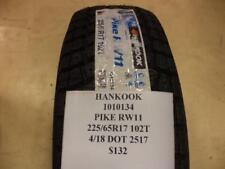 1 HANKOOK PIKE RW11 225 65 17 102T BRAND NEW TIRE 1010134 Q8