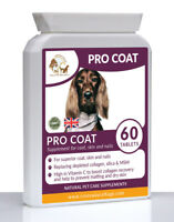 Professional Coat Conditioning Formula + Vitamin C for Dogs & Cats (60)