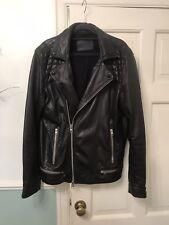 All Saints Leather Jacket Medium