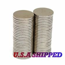 50PCS 12mm X 1mm Strong Round Disc N50 Rare Earth Magnets Neodymium U.S SHIPPED