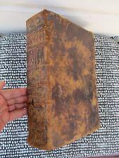 1731 BIBLIA SACRA Vulgatae SACRED BIBLE Annotated BAPTISTA DU HAMEL Illustrated