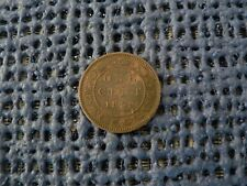 Canada 1859 DP 9 Large Cent Canadian Die Breaks Obverse