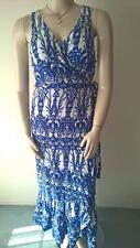 LADIES SIZE 22 CROSSROADS GORGEOUS MAXI RUFFLE WRAP DRESS NEW WITH TAG