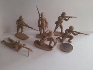 AIRFIX / LOT 6 SOLDATS JAPONAIS WW2 /  1,32 eme