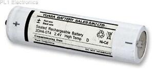 Yuasa 2DH4-0T4, 2.4V 4AH Ni-Cd Rechargeable Emergency Lighting Battery Pack
