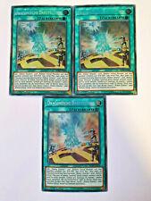 3x Dragonische Darstellung BLRR-DE096 Secret 1 Auflage YU-GI-OH Karten Playset