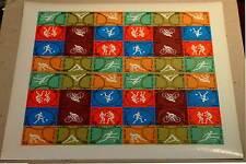 Libia 1964 Olimpiadi TOKYO FOGLIO INTERO N.D. 48 V NUOVO Gomma Originale MNH**
