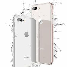 SHARK© iPhone 8 Premium Cover Transparent Schutz Hülle Silikon Case Slim Klar