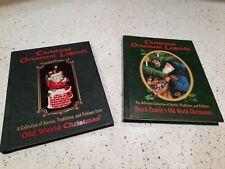Old World Christmas Ornament Inge Glas Christmas Ledgends Books