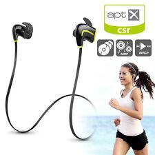 Sweatproof Bluetooth Earphones/Headphones Sports Gym For iPhone Samsung Sony LG