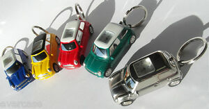 Rover Mini Car Clock Watch Key Anneau Holder. gift for her & him. Novelty gift