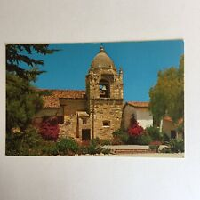 Bell Tower Carmel Mission California Unposted Postcard