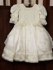 """Little girls princess gown Halloween costume flower girl 25"""" waist"""