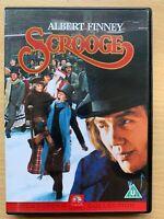 Scrooge DVD 1970 Charles Dickens Christmas Carol Movie Classic w/ Albert Finney