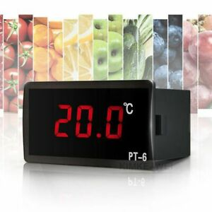 12V/110V/220V Digital Red LED Thermometer Temperature Meter & Sensor -50℃~110℃