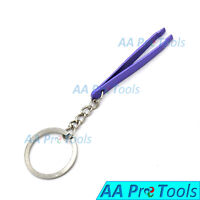 Key-Chain Gift Idea: Beautation Keychain, Functional, Eyebrow Tweezers Purple