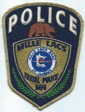 Mille Lacs Tribal Police Department Minnesota Retired Patch