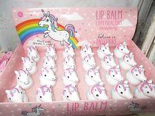 EINHORN Unicorn Figur Lippenbalsam Lippenpflege Mädelsabend Lip Balm Candy