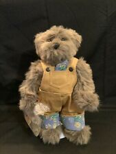 "Ashton-Drake ""Bartholomew"" 1996 Gallery of Teddy Bears With Goldfish And Stand"