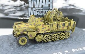 War Master 1/72 German Sd.Kfz.10/5 Demag D7 Half-track with Flak 38 1943 TK010