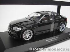 BMW 1 PZ SERIE M COUPÈ 2011 NERO 1/18 MINICHAMPS 110020021 NUOVO