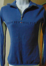 Tommy Hilfiger Women's Denim Blue Pullover Extra Small