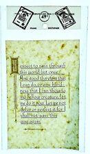 Original Vintage I Expect To Pass Religious Poem Mini Iron On Transfer