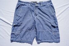 BKE Buckle 'Cheer' Metal Button Athletic Fit Lightweight Casual Cargo Shorts. 38