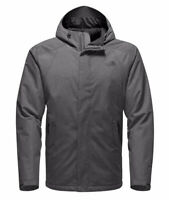 North Face Inlux Jacket Insulated Grey Black NF0A2TBRDYY 2XL Parka Coat Winter