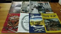4 North South Trader's Civil War Magazine Lot + 4 Unsorted Civil War Magazines!!