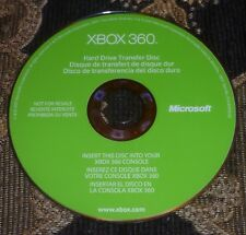Official Microsoft Xbox 360 Hard Drive Transfer Disc & User Guide