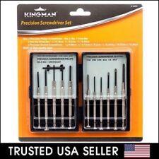 11 Pcs Mini Screwdriver Set Hand Tool Repair Kit for Eyeglasses Laptop Watch