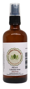 Colloidal Silver 110ml Ultra-Pure 30ppm With A Spray Top