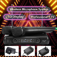 Karaoke Set KTV DJ Speaker mit 2 Wireless Mikrofonen Funkmikrofon Lautsprecher