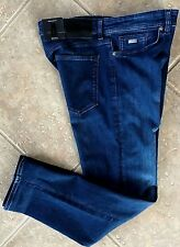 Hugo Boss Black Maine 3 Jeans 38 32 Regular Stretch Dark Denim 50302187 NWT $135