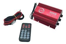 Amplificatore audio 500W 12V bluetooth USB 2CH stereo auto telecomando MA-700BT
