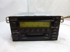 Toyota Factory Radio Single Disc Cd Cassette Player 86120-0C020 16814 BI941