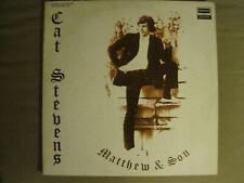 CAT STEVENS MATTHEW & SON / NEW MASTERS 2LP 1971 DERAM FOLK POP ROCK VG/VG+