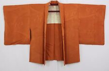 羽織 Haori japonais - Veste japonaise - Marron Orange 1447