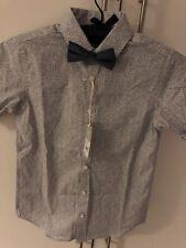 RJR John Rocha Shirt Bow Tie Age 12 New BNWT Navy Smart Formal Wedding