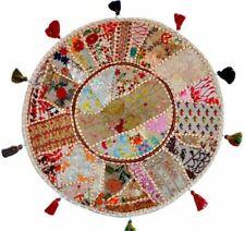 "Cushion Cover Meditation Indian Mandala Pillow Floor Round Case Decor Throw 22"""